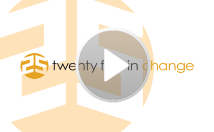 The 25 in Change Revolution – Starts May 7th 2012